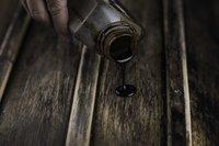 Holzteerfarbe ohne Einbrennen